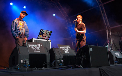 Hip-Hop-Highlights in Barcelona - Fotos: Sleaford Mods und Run The Jewels auf dem Primavera Sound 2015