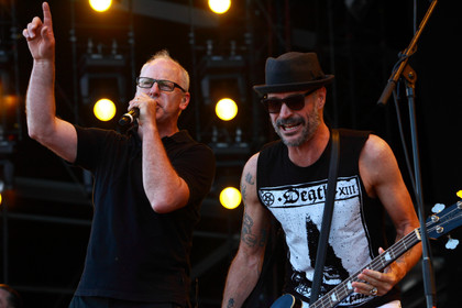 Stoisch bis freudig - Fotos: Bad Religion live bei Rock am Ring 2015 in Mendig