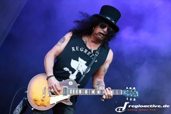 Junges Glück - Fotos: Slash live bei Rock am Ring 2015 in Mendig