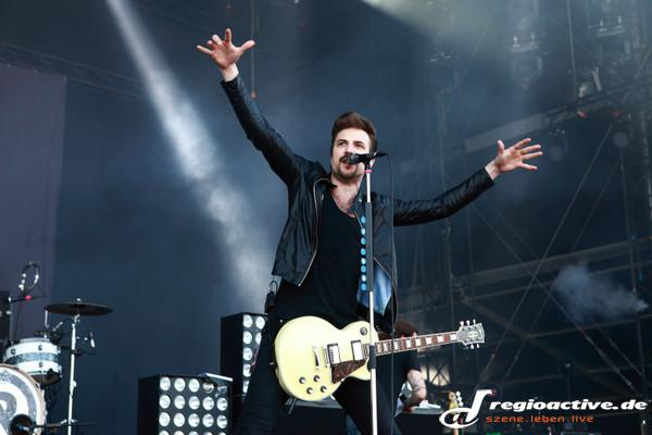 Vollgas - Fotos: Royal Republic live bei Rock am Ring 2015 in Mendig