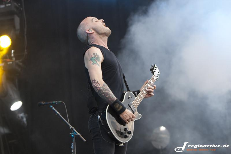 Rise Against (live bei Rock im Park 2015)