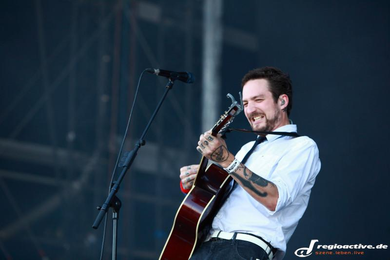 Frank Turner And The Sleeping Souls (live in Mendig bei Rock am Ring, 2015 Sonntag)