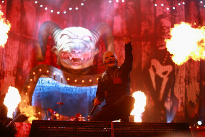 Maskenspektakel - Fotos: Slipknot live bei Rock am Ring 2015 in Mendig