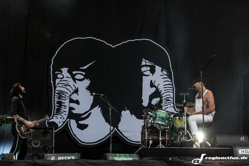 Death from Above 1979 (live beim Southside, 2015)