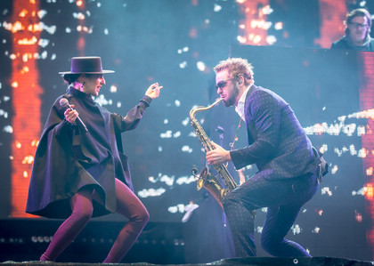 Swing King - Fotos: Parov Stelar Band live auf dem Southside Festival 2015
