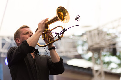Startrompeter - Fotos: Nils Wülker live bei Worms: Jazz & Joy 2015