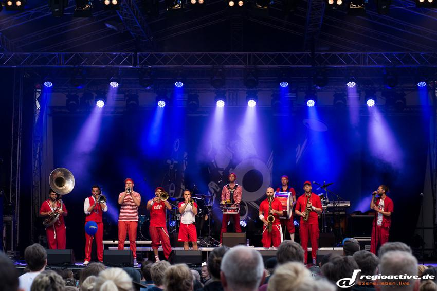 Moop Mama in Worms auf dem Jazz & Joy 2015