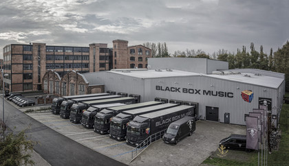 Black Box Music investiert in Wireless Monitoring der Sennheiser 2000er Serie